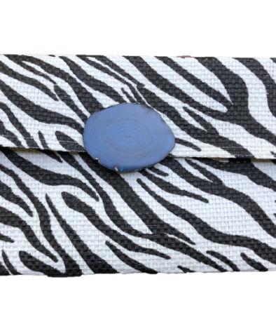 clutch lux zebra